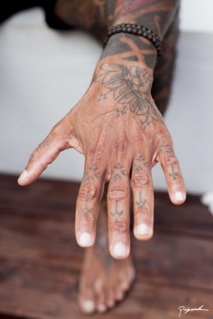 Fist tattoos